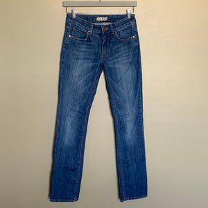 Acne Jeans Hex Lena straight leg jeans size 28